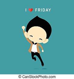 begrepp, kärlek, fredag