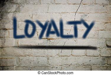 begrepp, lojalitet