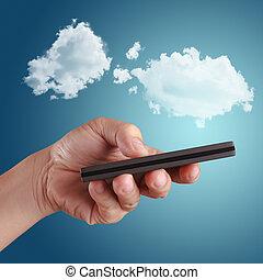begrepp, moln, beräkning