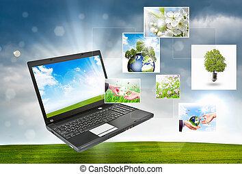 begrepp, multimedia