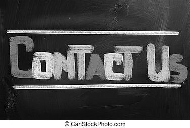begrepp, oss, kontakta