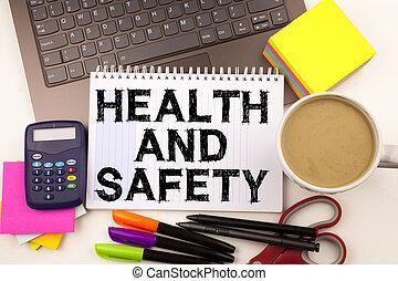 begrepp, penna, affärskontor, omgivning, text, avskrift tomrum, markör, laptop, skrivpapper, konstruktion, säkerhet, bakgrund, sådan, hälsa, vit, fana, medvetenhet, coffee.
