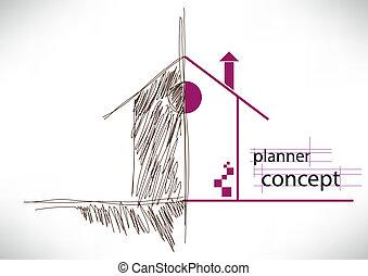 begrepp, planläggare