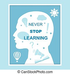 begrepp, stopp, inlärning, aldrig
