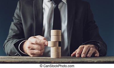 begreppsmässig, affär, vision, avbild, strategi