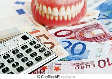 begreppsmässig, tand försäkring, avbild