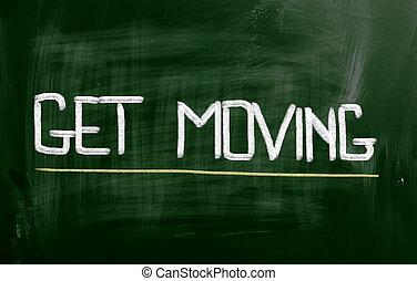 begriff, bewegen, bekommen