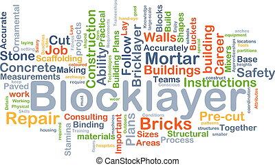 begriff, blocklayer, hintergrund