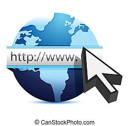 begriff, browser., internet