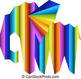 begriff, design, kreativ, elefant
