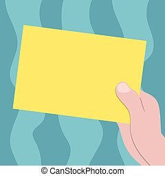 begriff, farbe, fördernd, papier, leer, kopieren platz, freigestellt, schablone, gezeichnet, leerer , pappe, besitz, geschaeftswelt, material, hu, plakate, hand, kupons, analyse, vektor, präsentieren