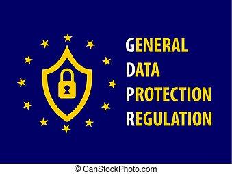 begriff, (general, regulation), schutz, daten, gdpr