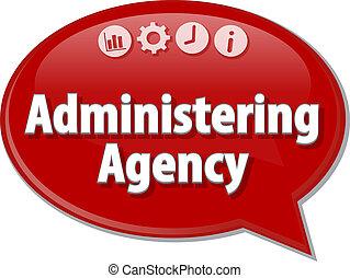 begriff, geschaeftswelt, agentur, abbildung, vortrag halten...