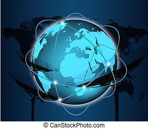 begriff, geschaeftswelt, reihe, global, begriffe, internet