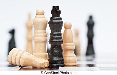 begriff, Geschaeftswelt, strategie, Anwendung, spiel, schach