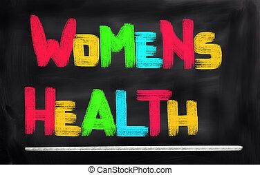 begriff, gesundheit, womens