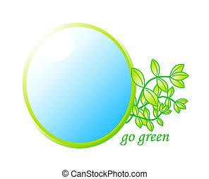 begriff, grün