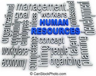 begriff, hintergrund, etikett, wolke, menschliche , weißes, ressourcen