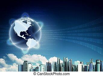 begriff, hintergrund, internet