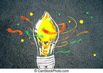 begriff, idee, kreativ