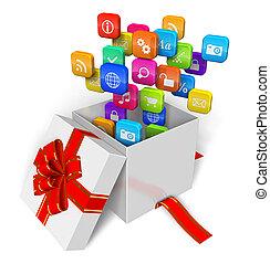 begriff, multimedia, software