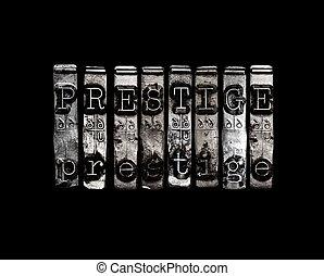 begriff, prestige