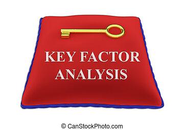 begriff, schlüssel, analyse, factor