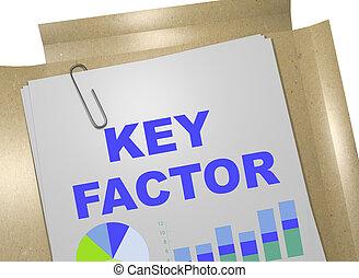 begriff, schlüssel, factor