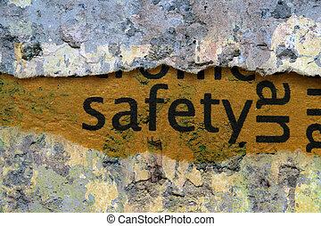 begriff, sicherheit