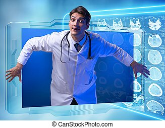 begriff, smartphone, telemedicine, doktor