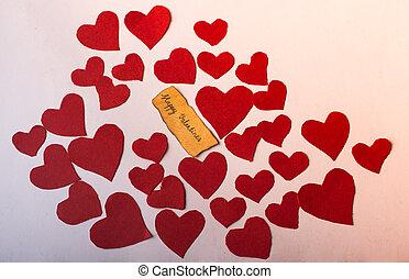 begriff, tag, valentines, liebe