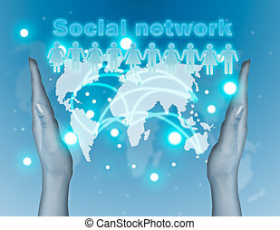begriff, vernetzung, sozial