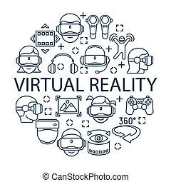 begriff, virtuelle wirklichkeit