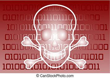 begriff, von, a, computervirus