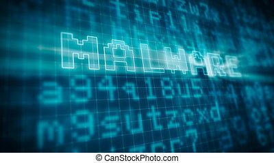 begriff, von, edv, malware
