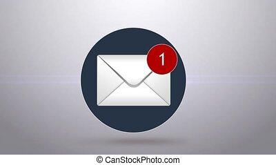 begriff, von, spam, e-mail