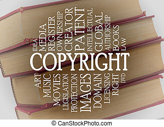 begriff, wort, copyright, wolke