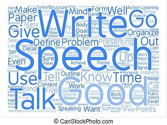 begriff, wort, text, schreiben, wie, vortrag halten , hintergrund, wolke