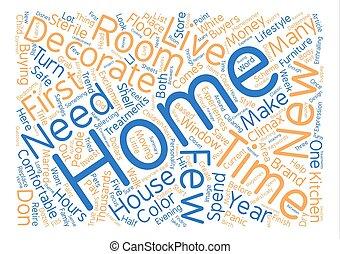 begriff, wort, text, wie, dekorieren, hintergrund, daheim, ...