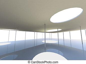 begrifflich, abstrakt, dachfenster, architektur