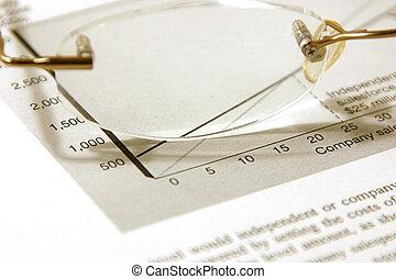 begroting, bril