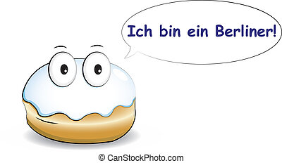 behälter, ich, berliner!, ein
