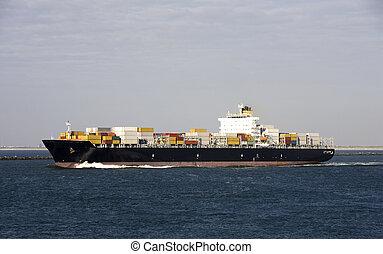 behållare skeppa