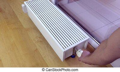 Heizkörper Zum Sitzen temperature einstellung mannes heizkörper stock