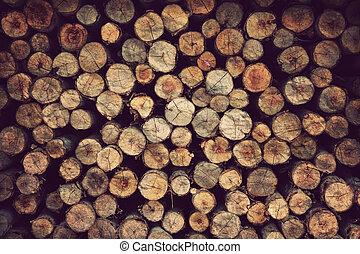 behang, ouderwetse , materiaal, textuur, hout, achtergrond