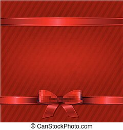 behang, retro, rood, kerstmis