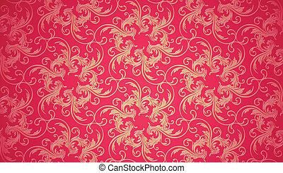 behang, seamless, textuur