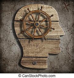 Behaviour and mind control concept