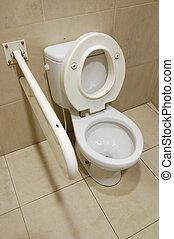 behinderung , toilette