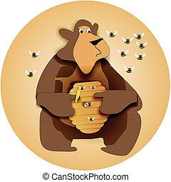 behive, bjørn